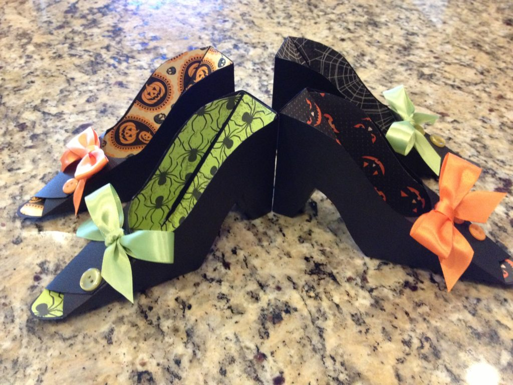 Empty Witch Shoes favors