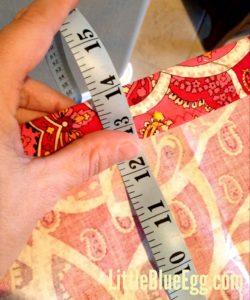 Step 3:  Measure, Measure, Measure