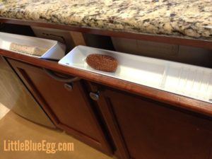 Kitchen Tip Out Tray