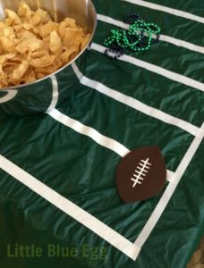 Football field Tablecloth-Coaster