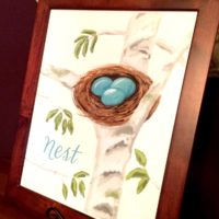 Nest Watercolor