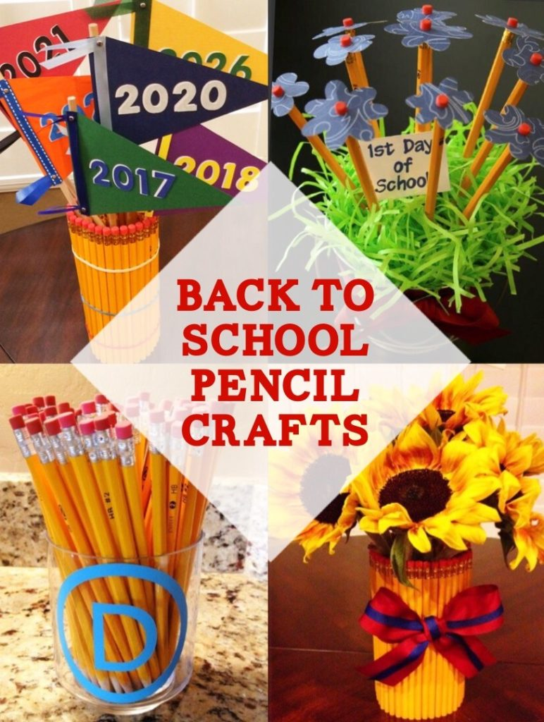 Pencil Crafts for Back to School