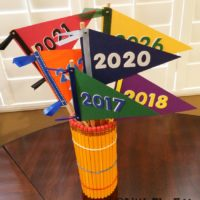 Class of Bouquet Pencil Vase
