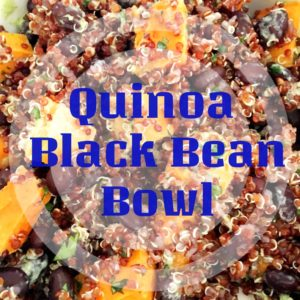 Quinoa Black Bean Bowl