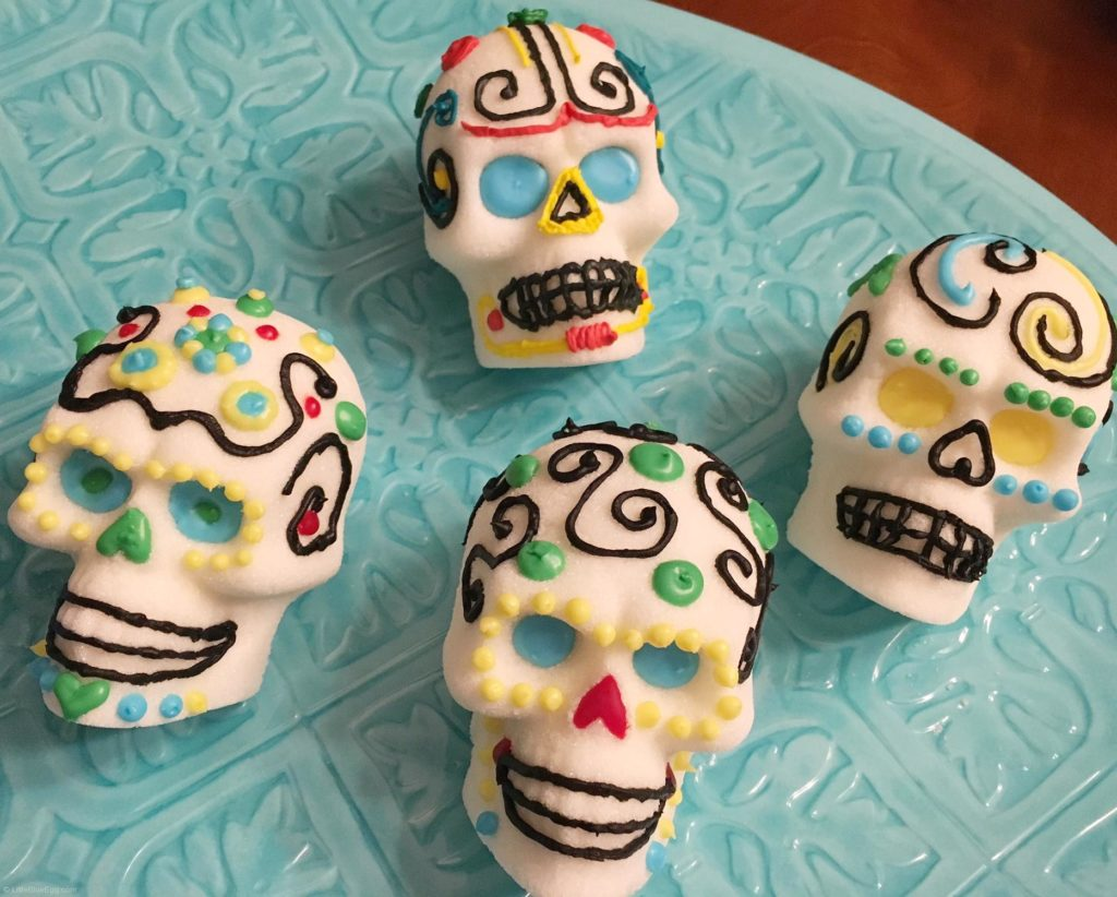 Sugar Skulls Decorated