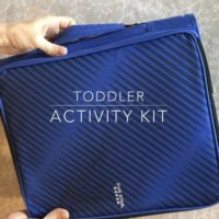 Toddler Activity Kit - Little Blue Egg