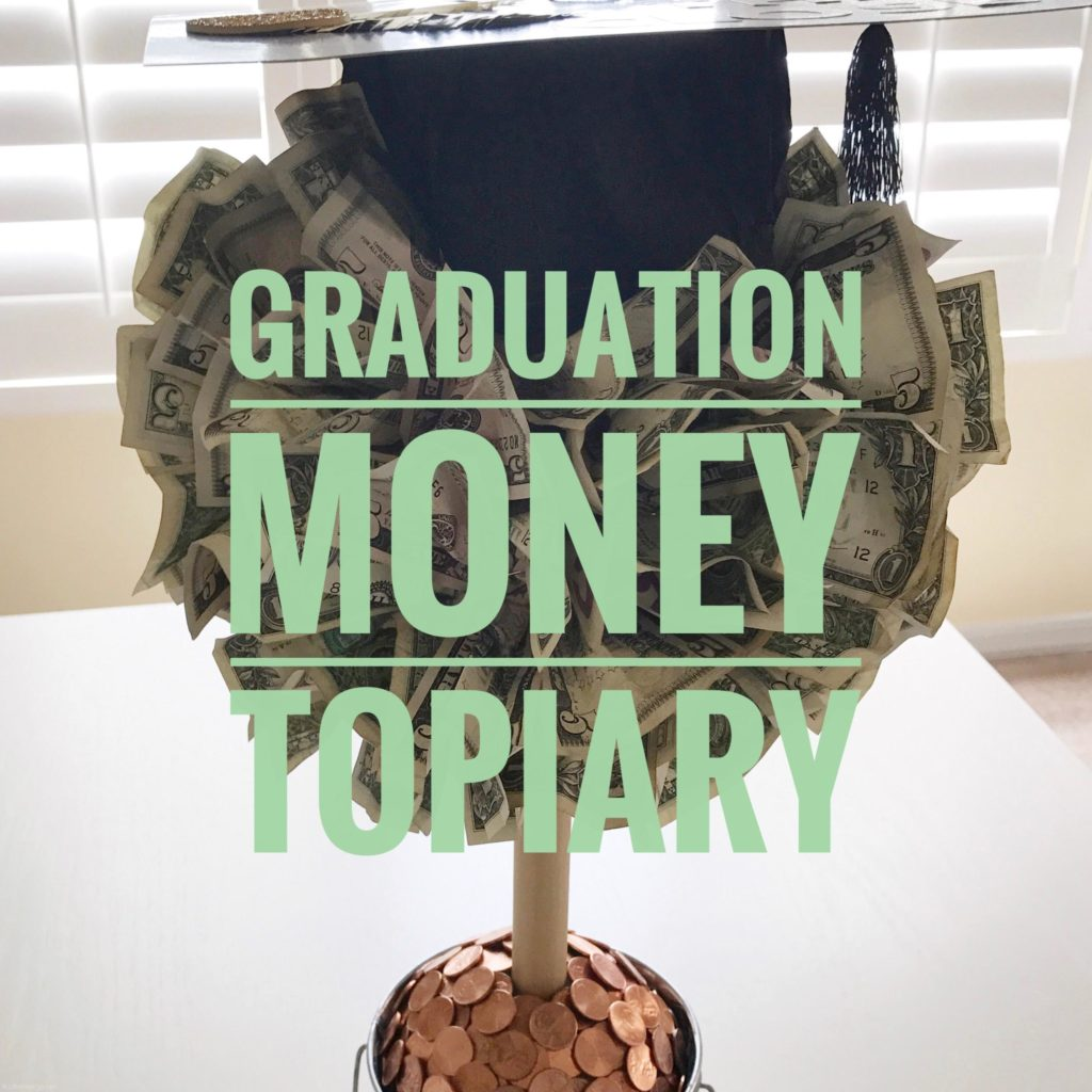 Graduatio Money Topiary