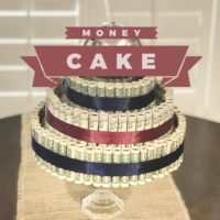 LBE Money Cake DIY