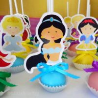 Princess Cake Pop favors