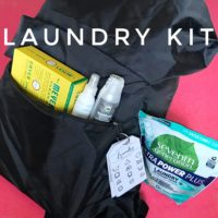 Laundry Kit: Little Blue Egg