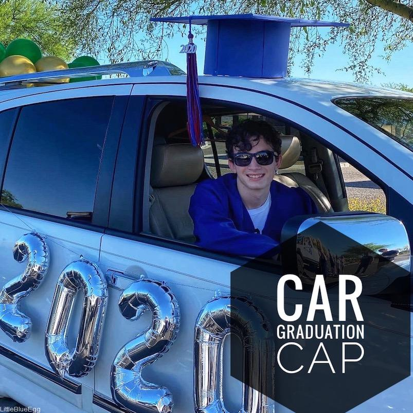 Oversized Graduation Cap For Cars